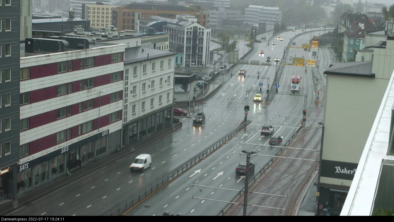 Webcam Bergen, Bergen, Hordaland, Norwegen