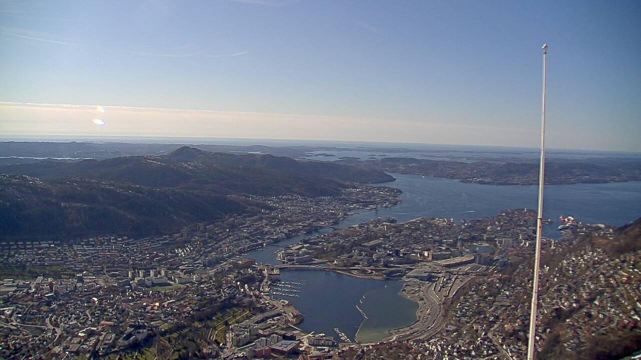 Webcam Ulriken, Bergen, Hordaland, Norwegen